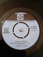 "Capt. Skid-Marks – Chick-A-Boom Vinyl 7"" Single UK PYE 7N 45083 1971"