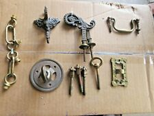 """New listing A """" Lot """" Of Vintage Antique Bronze / Brass Fitments"""