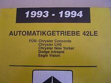 Werkstatthandbuch Chrysler Concorde LHS New Yorker Dodge Intrepid Eagle Vision