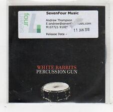 (FW315) White Rabbits, Percussion Gun - 2010 DJ CD