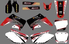 TEAM GRAPHICS DECALS FOR HONDA CR125 CR250 2002 03 04 05 06 07 08 09 10 11 12 D4