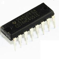 5PCS 74HC4051 74HC4051E DIP-16 HC4051 8-channel analog multiplexer NEW