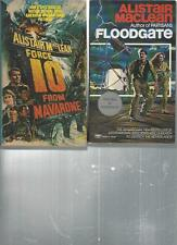 ALISTAIR MacLEAN - FORCE 10 FROM NAVARONE- A LOT OF 2 BOOKS