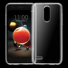 For LG Aristo 2 X210 / Tribute Dynasty Ultra Thin Clear Soft Gel TPU Case Cover