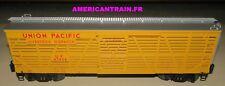Wagon ACF 40-Ton Stockcar Union Pacific 3 rails échelle O Lionel