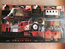 FAO Schwarz 30-Piece Motorized Train Set, Red