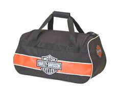 Harley-Davidson Classic Bar & Shield Water Resistant Duffel Bag 99418-RUST/BLK