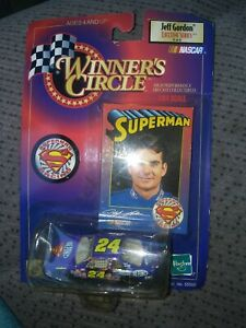 Nascar Winners Circle #24 Jeff Gordon Superman 1:64 *Free Gift*