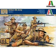 Italeri 6077 WWII British 8th Army 1/72 scale plastic model kit