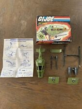 Vintage GI JOE SKY HAWK VEHICLE with Original Box & Instructions Hasbro 1984
