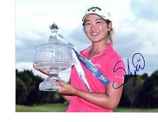 Su Oh LPGA  star hand signed autographed 8x10 golf photo coa
