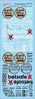 Gumball Rally Decal 1/24 Sponsoren Streetracing Drift Tuning RA17-24