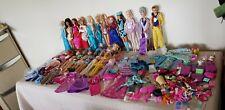 HUGE Bundle 90s+2000s Barbie,Disney+Ken dolls +ACCESSORIES 4 collector or OOAK