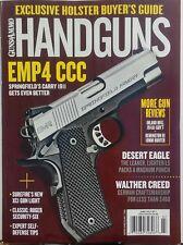 Guns & Ammo Handguns June July 2017 EMP4 CCC Springfield Armory FREE SHIPPING sb