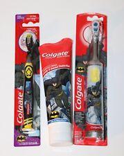 BATMAN Colgate Kids Toothpaste | Battery Powered Toothbrush | Manual Brush