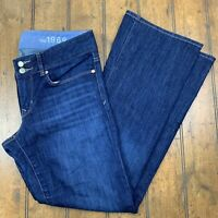 Gap 1969 Womens 28/6a Perfect Boot Jeans Blue Dark Wash Denim Bootcut Pants
