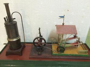 Steam - Engine Set - up Zschopau