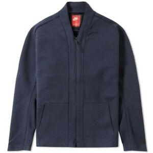 Nike Texh Fleece Men's Cardigan Good Used Condition UK Size Medium