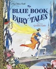 The Blue Book of Fairy Tales (a Big Golden Book)-ExLibrary