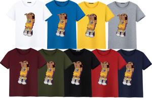 NBA Curry James Kobe Men's Q version Short Sleeve T-Shirt