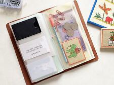 Bolsa de plastico Zip para Traveler Notebook Bolsillo Cremallera 4339a