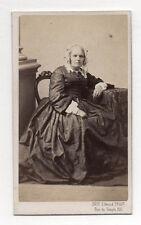 Photo - CDV - Femme Coiffure - Edmond FRUIT à Paris - Vers 1870 Albumen Print.