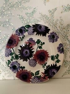 "Emma Bridgewater Dark Dahlias 8.5"" Plate"