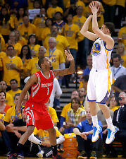 Klay Thompson Unsigned 8x10 Golden State Warriors (3)