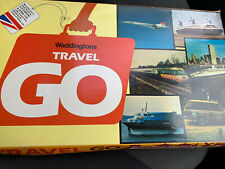 Vintage Rare 1970's Waddingtons Travel Go Board Game - Excellent Condition