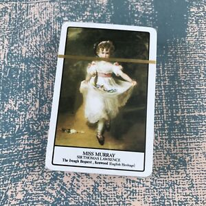 Vintage Playing Cards Sir Thomas Lawrence Painting Miss Murray Sealed