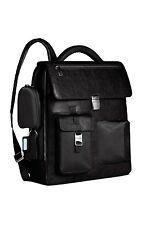 Piquadro Frame Black Computer backpack w/ detachable mobile case CA1743FR/N