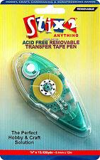 De doble cara desmontable Pegamento Cinta Transferencia Pen 8,4 Mm X 12 Metros libre de ácido s56987