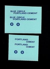 MATCHBOX TRANSFERS/DECALS - 51a ALBION CHIEFTAIN CEMENT LORRY