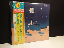 "ELO""Time""Lp Japan-Obi Japanese Vinyl Record Third Blue Discovery Music"