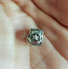 Badge Bead Charm Pre-Owned Authentic Chamilia Police