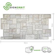 Pannello finta pietra Coreno Light in PVC 98x50cm kit di 2 Pz 1 mq