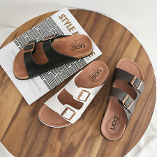【SALE】AS UGG Summer Beach Slip-on Flats Mick Sandals Comfortable Slippers