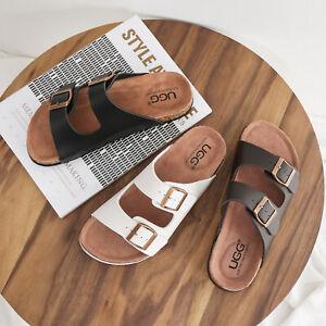 【SALE】UGG Summer Beach Slip-on Flats Mick Sandals Comfortable Slippers