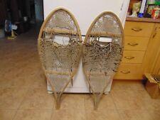 antique indian    snowshoes       16   x  38    chalet decor  nice   /#  2175