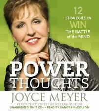 Power Thoughts: Winning the Battle of the Mind, Audio Book CD Joyce Meyers