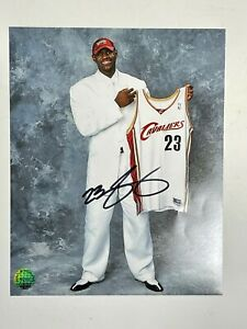 Lebron James Signed Autographed 8x10 Photo w/coa MUST HAVE!