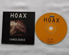 HOAX Conscience FRENCH card sleeve PROMO CD ABATHRASH / BOUCHERIE Prod (1995)