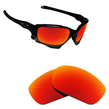Hawkry Polarized Replacement Lenses for-Oakley Jawbone Orange Red Mirror