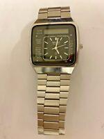 Seiko Digital Analog Dual Watch 060882 RARE VINTAGE