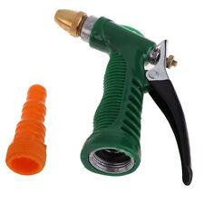 High Pressure Hose Nozzle Water Gun Brass Head Hand Spray Metal Garden Watering