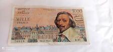 Billet 1000 francs Richelieu 1954 bon état