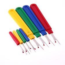 8pcs Seam Ripper Stitch Unpicker Sewing Craft Tool Plastic Handle Thread Cutter