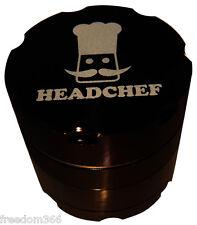 Chef Razor 50mm-Negro parte 4 Amoladora De Aluminio