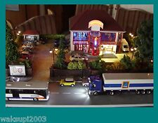 Diorama Tanzhaus HO mit MP3 Player einmalig