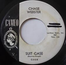CHASE WEBSTER ~ SUIT CASE ~ EARLY ROCKER on CAMEO PROMO 45 ~ HEAR IT